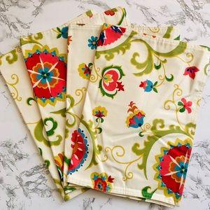 ZINA VASI Set of 4 Floral Placemats